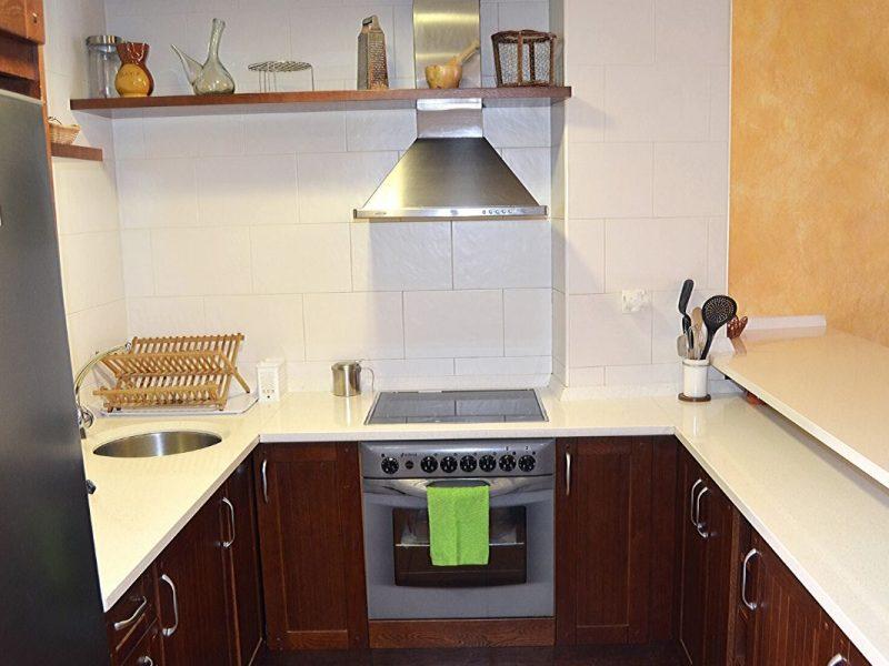 Cocina de Casa Rural Bigotes. Casa Rural en Burgos